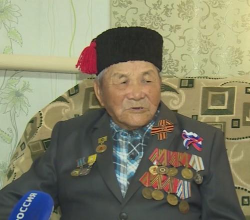 Не стало ветерана Великой Отечественной войны Надвида Убушиева
