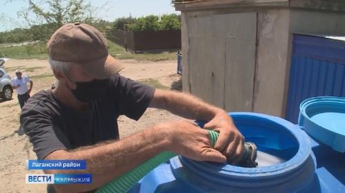 Качество воды в Лагани, по-прежнему, не соответствует норме
