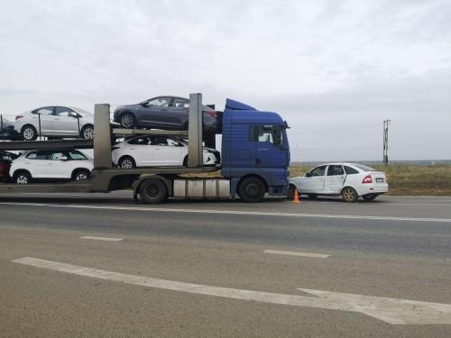 8 ДТП произошли в Калмыкии за минувшую неделю