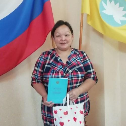 В отделе ЗАГС Яшалтинского района произведена сотая запись о рождении