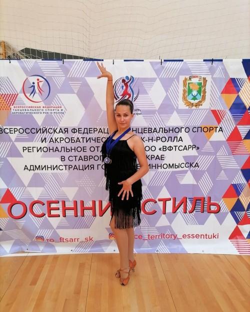 Алина Гермашева – победитель Всероссийского турнира по танцевальному спорту «Осенний стиль»