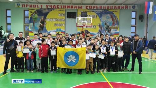 Калмыцкие каратисты завоевали 42 медали на Открытом турнире в Волжском