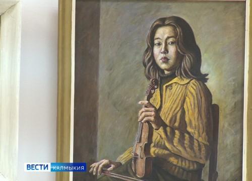 Персональная выставка Василия Хахулина открылась в Национальном музее имени Пальмова