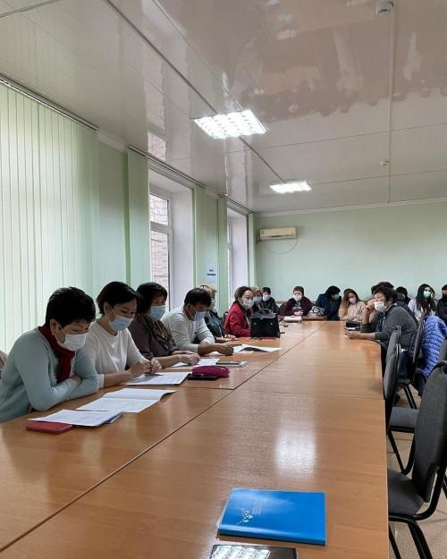 В Лаганском районе приступили к обучению переписчиков