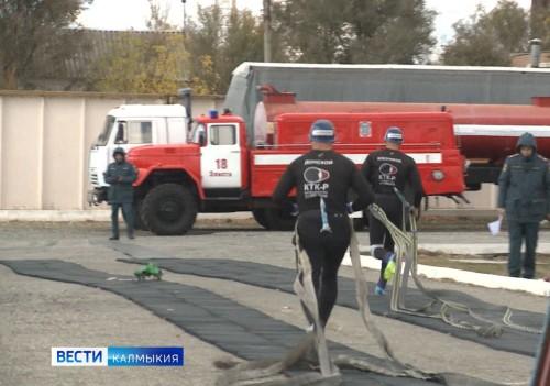 В эту пятницу 95-летнюю годовщину со дня образования отпразднует Пожарная охрана Калмыкии
