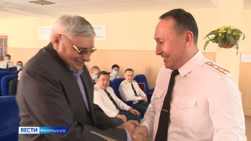 Сегодня противопожарная служба Калмыкии отмечает 95 лет со дня образования