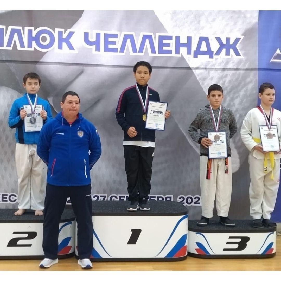 Тхэквондисты Калмыкии завоевали золотые медали на Всероссийских соревнованиях «Мамлюк Челлендж»