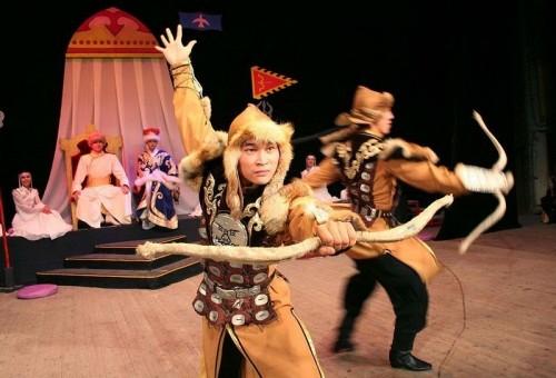 Государственный театр танца Калмыкии «Ойраты» принял участие в международном фестивале «Содружество»