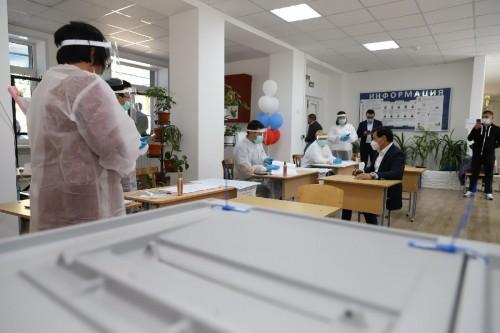 Выборы депутатов в Государственную Думу продолжаются