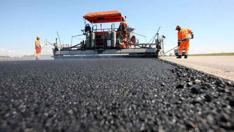В республике продолжается строительство новых дорог