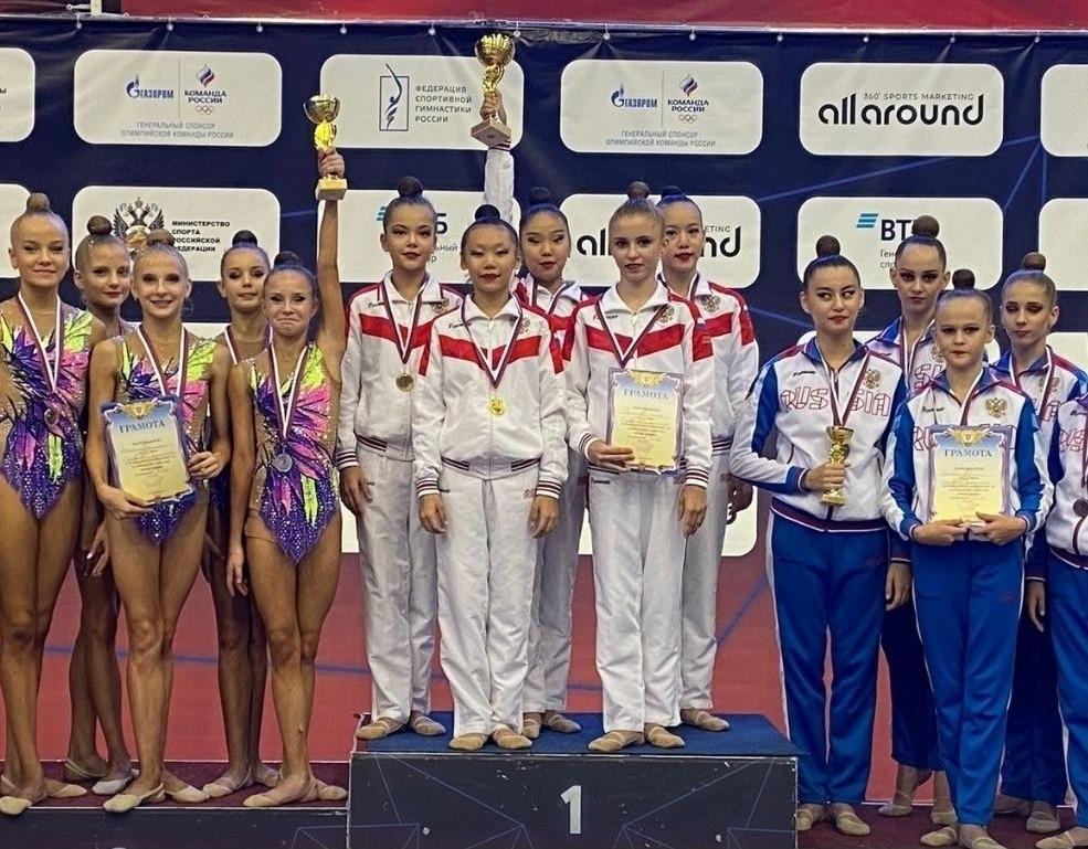 Гимнастки Калмыкии вернулись из Пензы, где завершаются Всероссийские соревнования «Юные грации»