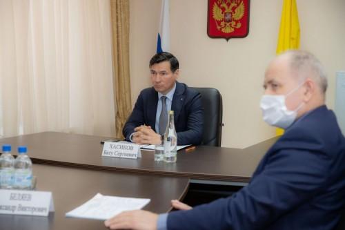 Глава Калмыкии Бату Хасиков провел прием граждан по поручению Президента Российской Федерации