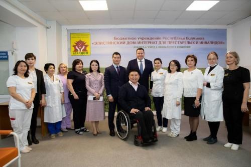 Глава Калмыкии поздравил сотрудников Социальной службы с профессиональным праздником