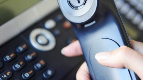В городской поликлинике установили многоканальный телефон