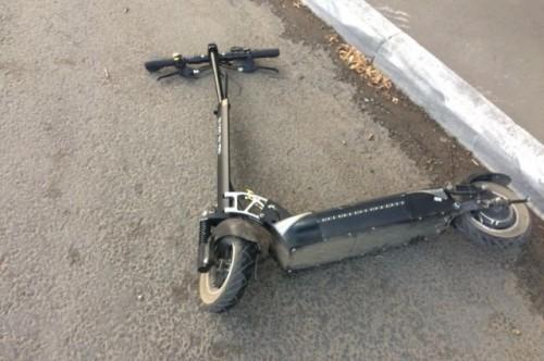 В  результате ДТП пострадал несовершеннолетний пешеход
