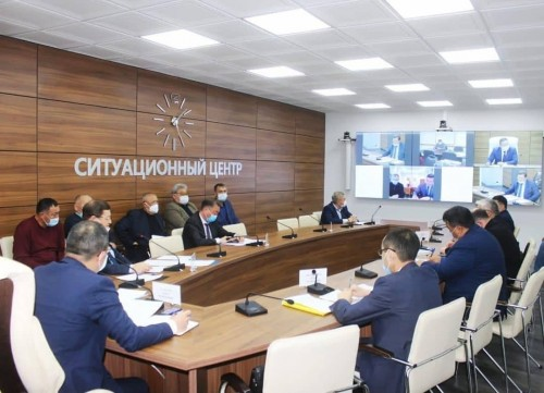 В Элисте обсудили реализацию ряда национальных и региональных проектов