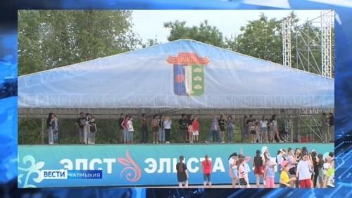 Сегодня в парке Дружба проходят финальные репетиции празднования Дня России