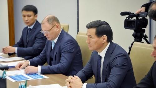Глава Калмыкии и генеральный директор «Газпром межрегионгаз»  обсудили вопросы сотрудничества