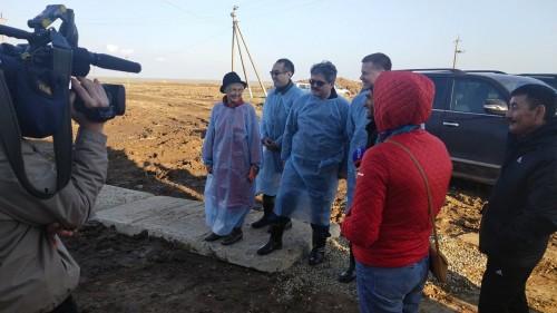 В Калмыкию с визитом прибыла рабочая группа из членов Совета Федерации