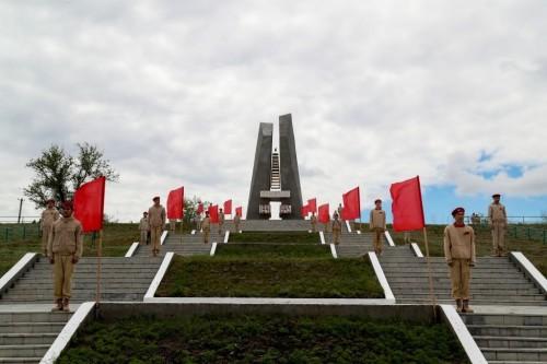 Сегодня на Мемориальном комплексе воинам 28-й Армии в Хулхуте состоится  митинг памяти