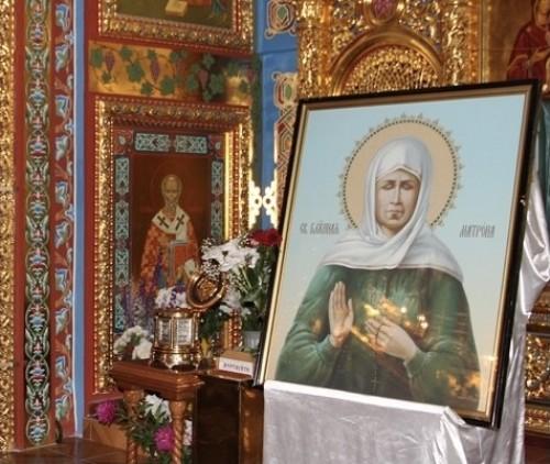 Верующие Элисты смогут поклониться мощам Блаженной Матроны Московской