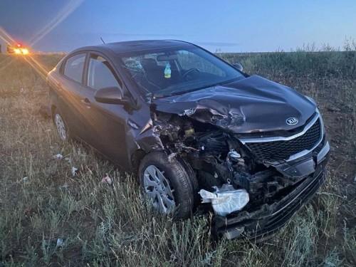 За прошлую неделю на дорогах Калмыкии произошло 5 ДТП