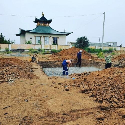 Ступу Просветления возведут в поселке Лиман Астраханской области