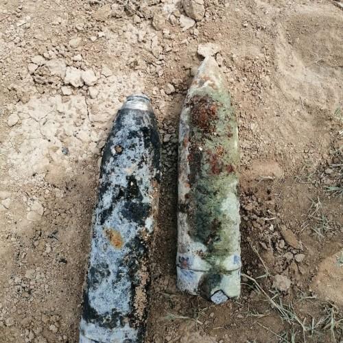 В Калмыкии обнаружили и обезвредили снаряды времён Великой Отечественной войны