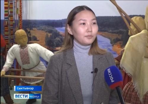 Ученица Хар-Булукской школы, победительница регионального этапа Всероссийского конкурса «Лидер 21 века» посетила республику Коми