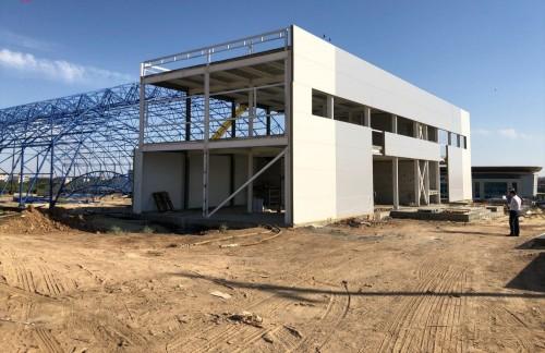 Строительство ледового дворца в Элисте завершится в декабре