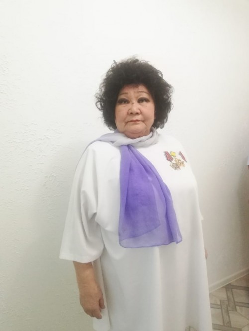 Валентина Горяева награждена медалью ордена «За заслуги перед Отечеством II степени»