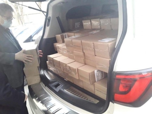 В Калмыкии благодетели помогают учреждениям здравоохранения