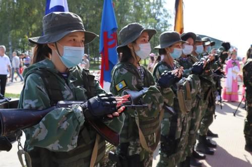 Ребята из Калмыкии – участники форума «Армия-2020»