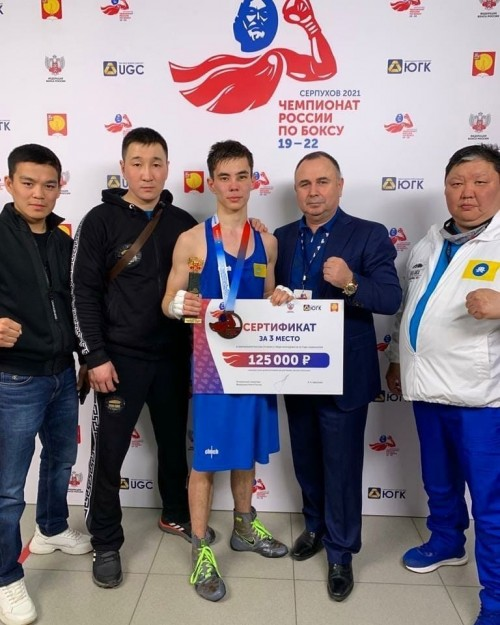 Еще одна медаль в копилке калмыцких боксеров и в личном багаже Богдана Ильзитинова
