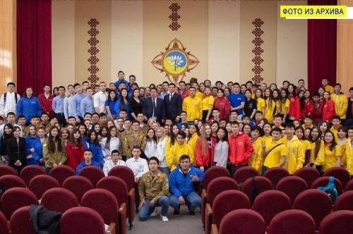 Молодёжь Калмыкии  всё больше проявляет себя в общественной жизни республики