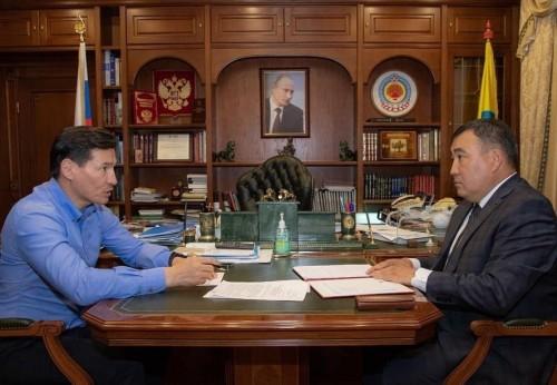 Глава Калмыкии отметил успехи в работе Ветеринарной службы