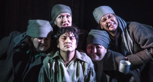 Сегодня на сцене Национального драматического театра Калмыкии спектакль «Сумасшедший Муклай»