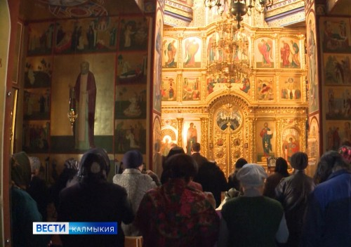 Четверть века исполнилось Элистинской и Калмыцкой епархии
