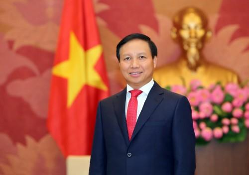 Степную столицу с юбилеем поздравил Полномочный Посол Социалистической Республики Вьетнам в России господин Нго Дык Мань