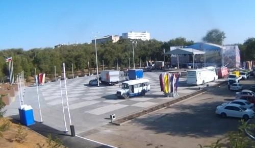 Бату Хасиков принял участие в открытии площади Победы