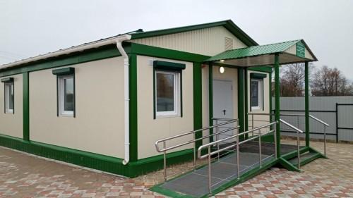 В поселке Ут-Сала открылся новый модульный ФАП