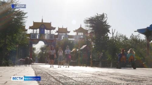 В Калмыкии продолжается благоустройство территорий в ходе федерального проекта «Формирование комфортной городской среды»
