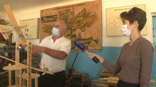 Школьный музей Вознесеновки отмечает 45-летие