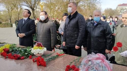 В Элисте почтили память Народного Генерала Басана Городовикова