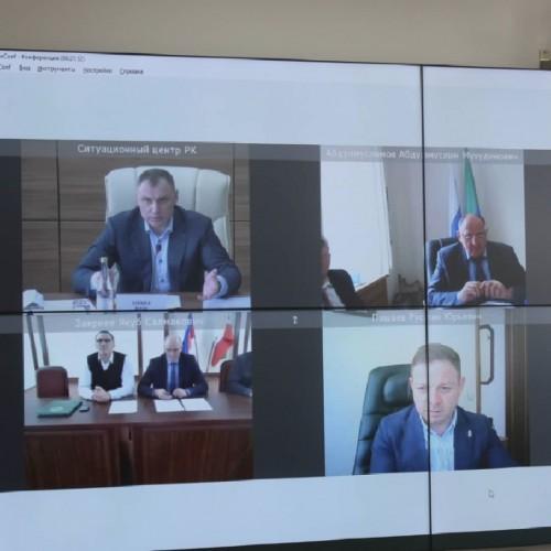 Представители ответственных ведомств обсудили вопрос создания Центра по борьбе с опустыниванием территорий