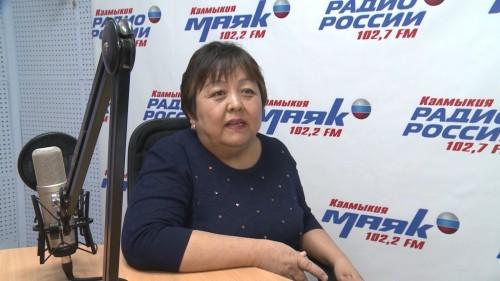 Сегодня свой юбилей отмечает наша коллега Цаган Шурунгова