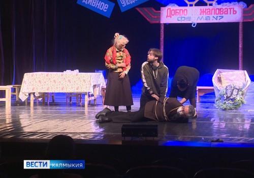 Сегодня на сцене национального драматического театра - премьера
