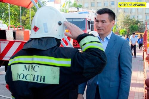 Сегодня исполняется 94 годовщина образования Пожарной охраны Калмыкии