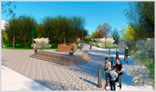 В Элисте в следующем году будет благоустроен парк «Молодежный» в 1 микрорайоне