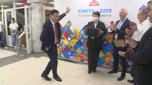 В столице Калмыкии состоялся экономический форум «Элиста-2020»